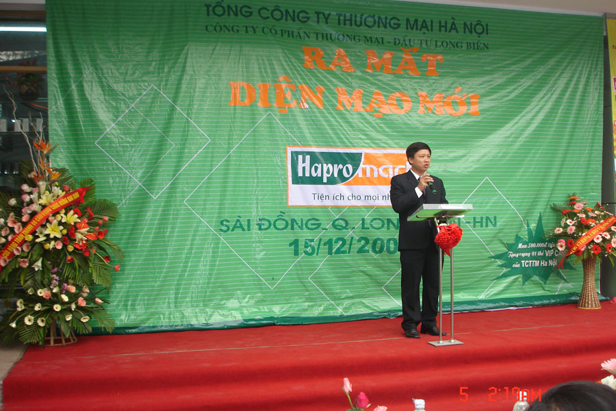 Khai Trương siêu thị Sài Đồng